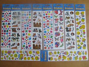 Aufkleber - Long Stickers - Stickers - Mitgebsel für Kindergeburtstag - NEU