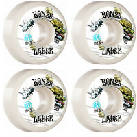Bones Skateboard Wheels 58mm Lasek Tortoise and Hare P5 Sidecut SPF 84B (104A)
