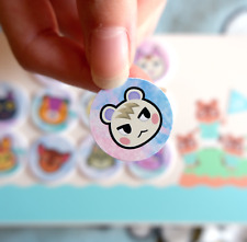"""🌱Animal Crossing Amiibo Coin Card ✨2.5cm/1"""" 👌Pick Any Villager! 400+ Available"""