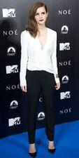 NWT J. Mendel Draped black white wrap Jumpsuit Size 8  $2500