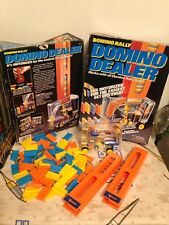 Domino Rally, Domino Dealer '92 Battery Op Works, 100 Dominos 2 Stacks GC