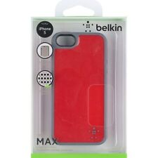 Belkin Grip Candy Max Cell Phone Case For iPhone 5 5S SE Red/slate Cover 4E