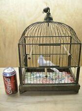 Vintage German Brass Bird Cage – Made in Germany! - Nice Original Condition!