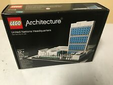LEGO Architecture United Nations Headquarters 21018 Sealed NIB