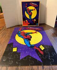 1978 Marvel Comics Amazing Spider-man Jigsaw Puzzle Complete 1970's spiderman