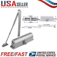 Hydraulic Auto Door Closer Adjustable SF-071 Easy Automatic Door Closer New US