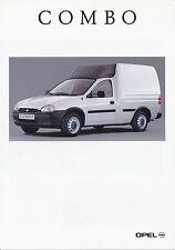 Opel Combo Prospekt 7 93 brochure 1993 Auto PKWs Deutschland Verkehr Europa