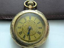Orologio Tasca Oro 9 Kt  Art Deco'  Victorian  Pocket Watch Solid Gold