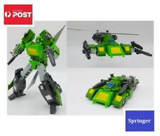 Transformers Autobot G1 Style Robot Toy Triple Change - Springer