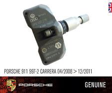 Porsche 911 997 TPMS Sensor Válvula de Presión de Neumáticos Genuino Nuevo 04/2008 > 12/2011