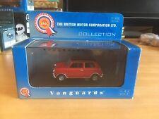 Vanguards 1/43 Va02500 Mini Cooper Red With Black Roof
