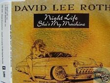 DAVID LEE ROTH NIGHT LIFE FRANCE PROMO CD VAN HALEN