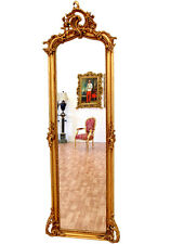 ROKOKO PFEILERSPIEGEL ca.178x58cm - VENEZIANER SCHLOSS SPIEGEL GOLD WANDSPIEGEL