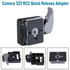 Camera 323 Quick Release Plate Mount Adapter w/ Manfrotto 200PL-14 Compat Plate