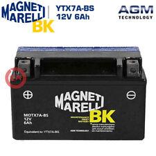 BATTERIA MAGNETI MARELLI YTX7A-BS 6Ah KYMCO AGILITY 4T CARRY R12 125 2009-2015