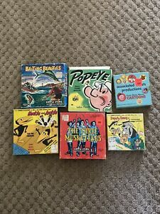 Lot of 6 8MM Films:  Cartoons