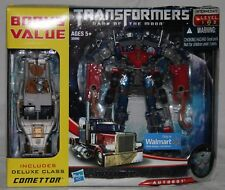 transformers dotm walmart optimus prime comettor voyager MISB