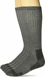 Carolina Ultimate Mens Outdoor Merino Wool Cushion Mid Calf Boot Socks 2 Pair
