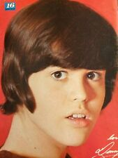 Donny Osmond, The Osmonds Brothers, Alan, Wayne, Double Full Page Vintage Pinup