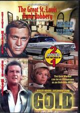 DVD GREAT ST LOUIS BANK ROBBERY & GOLD STEVE MCQUEEN ROGER MOORE