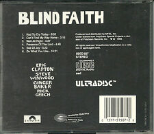 Blind Faith MFSL Gold CD u i Japon erstpressung udcd 507