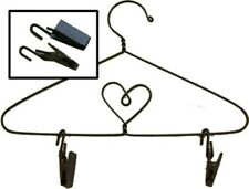 Set Of 6 Wire Hanger Clips-For Use With Doll and or Quilt Hangers-Clips Only