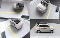 Fiat Nuova 500 Abarth  1:43  in  Mini-Diorama ..#702