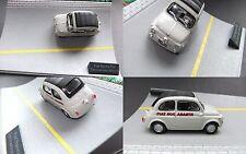 FIAT NUOVA 500 ABARTH 1:43 in mini-diorama... #702