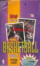 1993-94 93-94 TOPPS SERIES 2 NBA SEALED BOX: MICHAEL JORDAN+WEBBER/PENNY GOLD RC