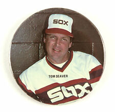 "1984-86 Tom Seaver Chicago White Sox 3"" Pinback Button"