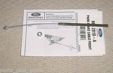 Mustang Brake Cable Ford Racing M-2810-A With Extras Rear Disc Conversions