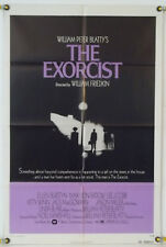 THE EXORCIST FF ORIG 1SH MOVIE POSTER LINDA BLAIR MAX VON SYDOW HORROR (1974)