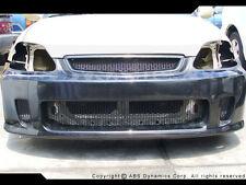 1999 -00 Honda Civic Airwalker N1 BYS Front Bumper FRP w/ CARBON FIBER LIP