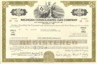 Michigan Consolidated Gas Company > bond certificate