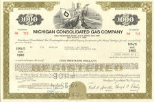 Michigan Consolidated Gas Company > bond certificate