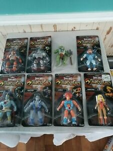 Lot of series 1 and 2 funko savage world Thunder cats figures. MOC, one loose