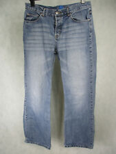 Men's Blue Denim Straight Leg Jeans by New Look Button Fly  100% Cotton UK 34L