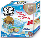 ZURU ROBO ALIVE ROBOTIC PETS PLAYSET - 37439 FISH TURTLE BOWL ISLAND SWIM TOY