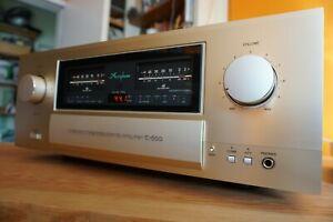 Accuphase E-600 Class A Stereo Vollverstärker, original P.I.A. Gerät mit OVP