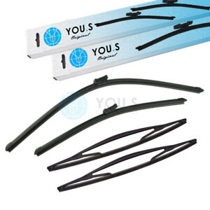 You.S Windshield Wiper Set Front + 2x Rear For Nissan NV300 Box/Estate X82