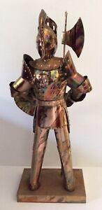 Knight Metal Statue Display
