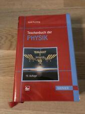 Taschenbuch der Physik | Horst Kuchling | 2011 | deutsch | Gebraucht