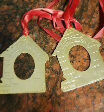 CHRISTMAS DOG HOUSE ORNAMENTS