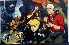 JONNY QUEST GANG PRINT Hanna Barbera