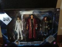 Doctor Who - River Song, Donna Noble & The Narrator Action Figures (Set of 3)