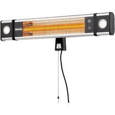 Clarke cfi1800l 1800W Fibre Carbone infrarouge chauffage mural avec lampes LED