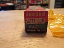 NOS Auburn TC-3 187 TF COM Spark Plug in box