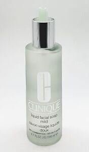 CLINIQUE Liquid Facial Soap 200ml Mild NEW Damaged Pump #1818