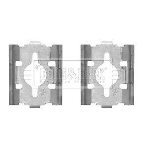 CAPSautomotive Accessory Kit  disc brake pads for Peugeot 95716000