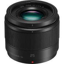 New Panasonic Lumix G 25mm f/1.7 ASPH. Lens - BLACK [H-H025]